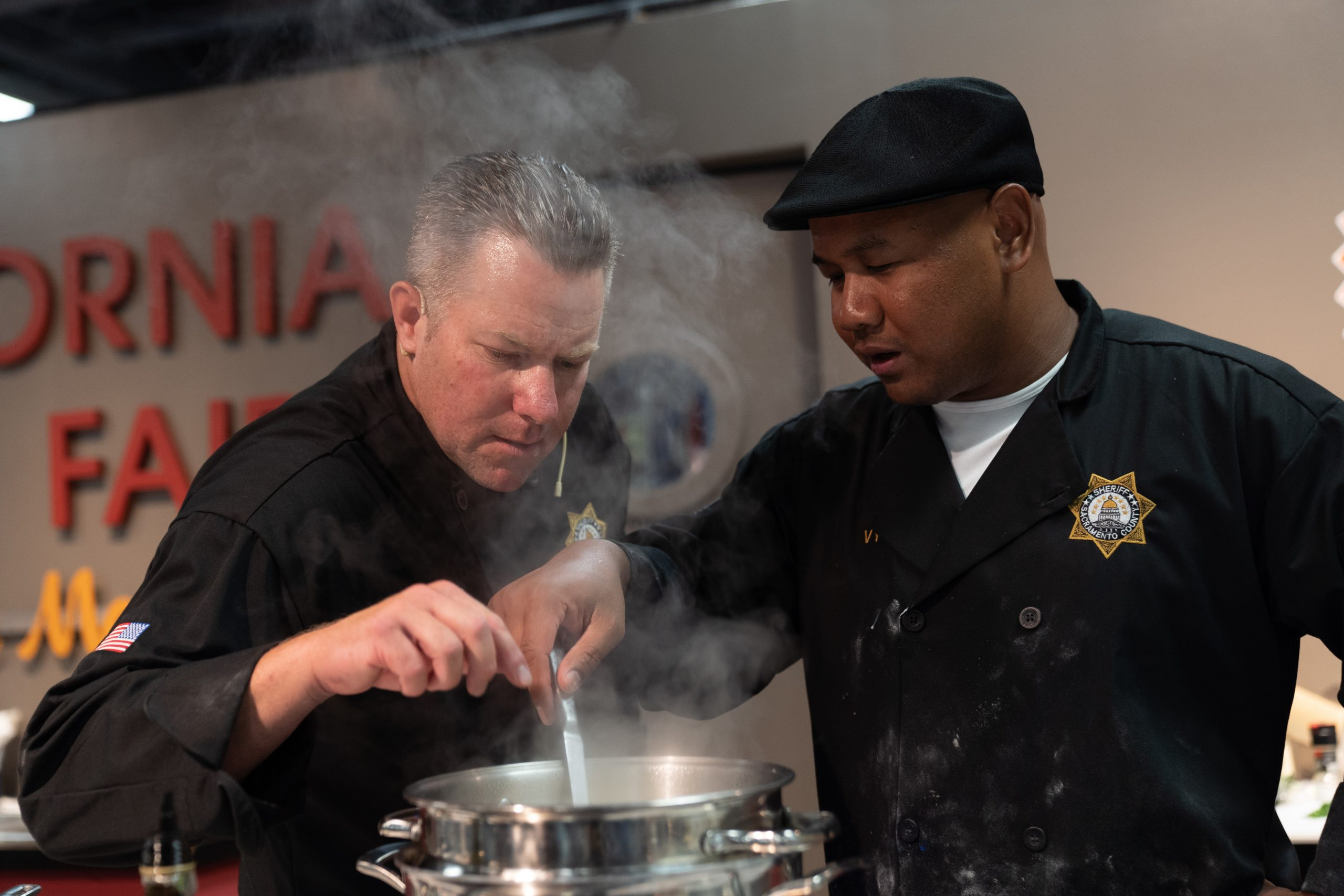 911 Cooking Challenge at Save Mart California's Kitchen