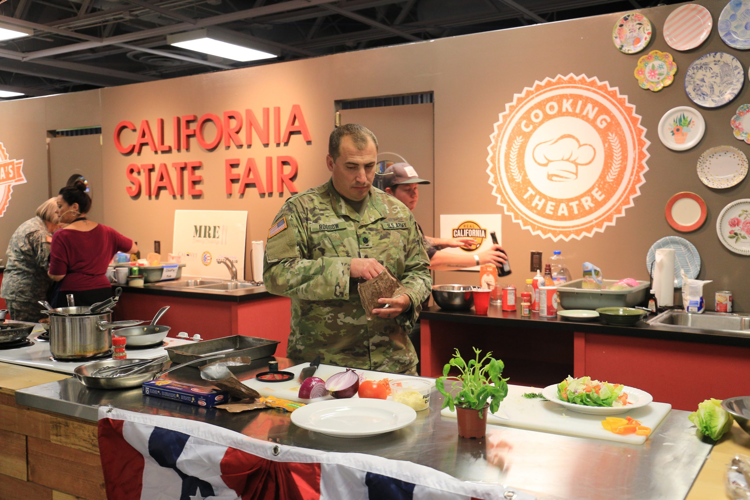 MRE Cooking Challenge at Save Mart California's Kitchen