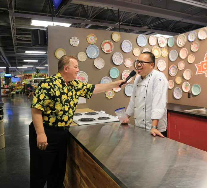 Chef Cooking Challenge at Save Mart California's Kitchen