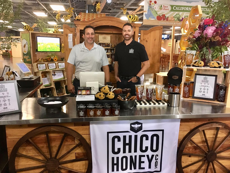 CA Honey Sampling & Sales Booth, Chico Honey Co.
