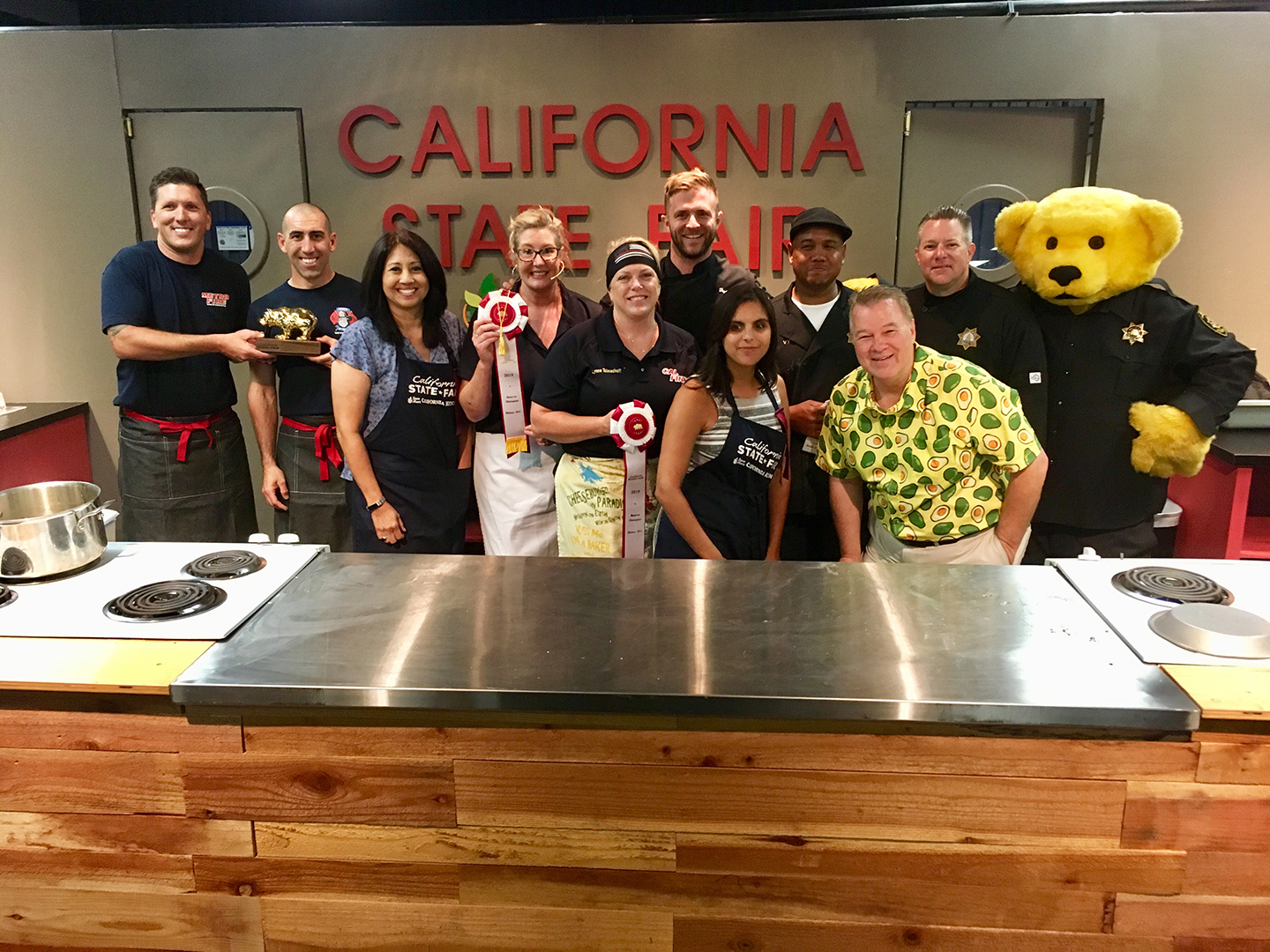 Dinner 911! First Responders Cooking Challenge Final Round Winners, Judges and MC