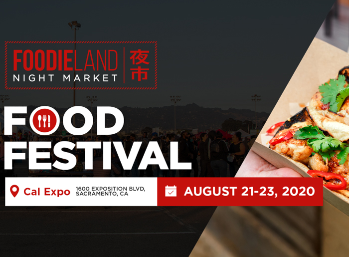 Foodie Land Aug 21-23 Event Flyer