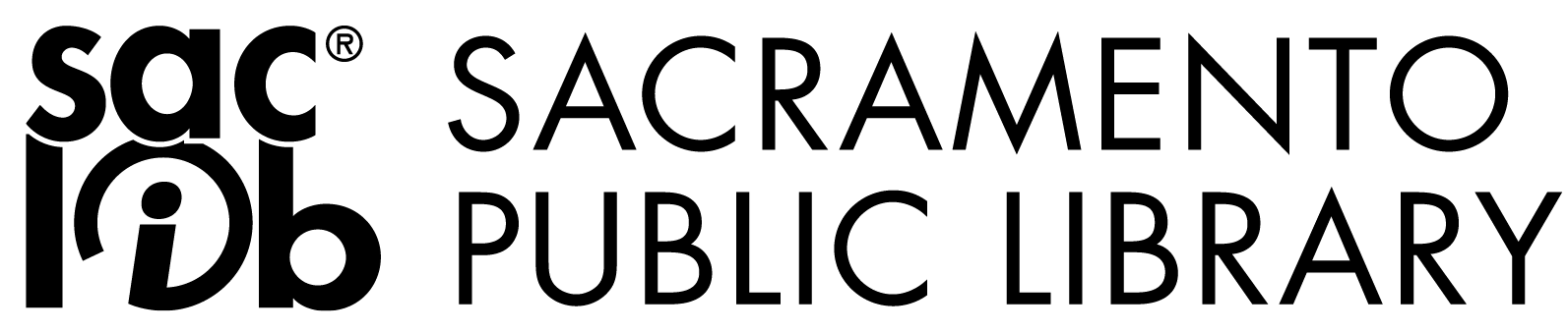 sacramento public library logo