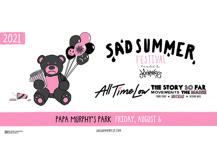 Sad Summer Fest event flyer