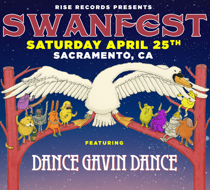Swanfest event flyer