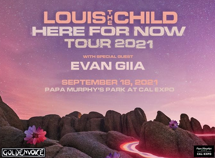 Louis The Child 2021 Event Flyer