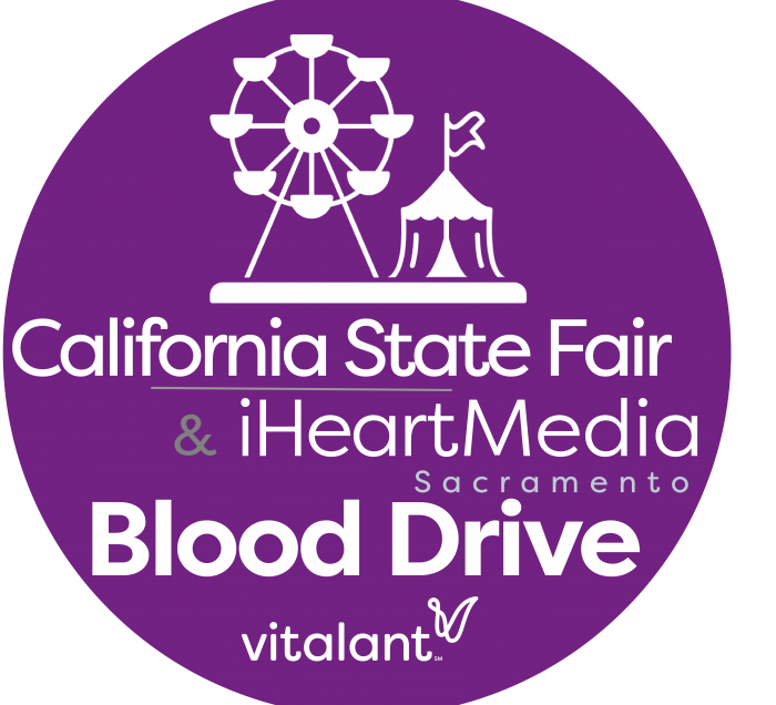 Cal Expo Blood Drive Logo