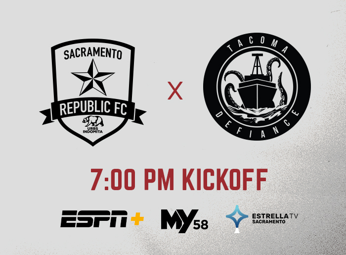 Sac Republic FC 9/30 Event Flyer