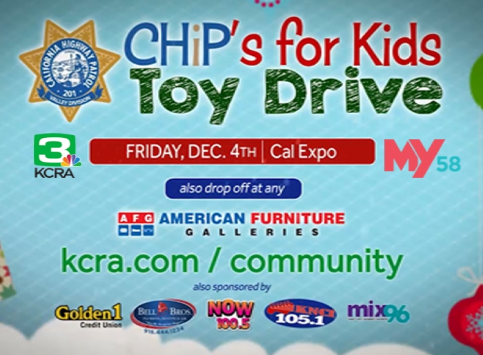 CHIPS FOR KIDS Event Flyer
