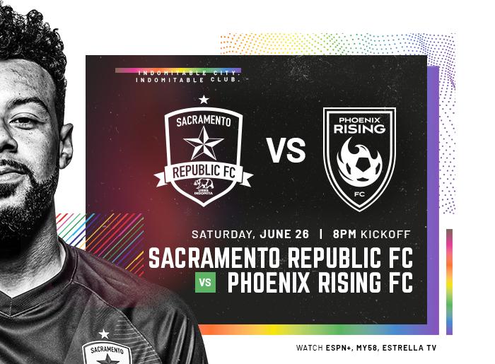 Sacramento Republic Fc v Phoenix Rising FC June 26