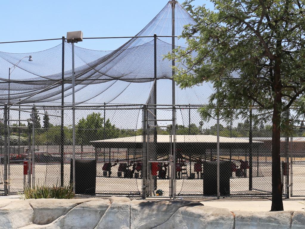 Batting Cages at Rock & Brews Cal Expo