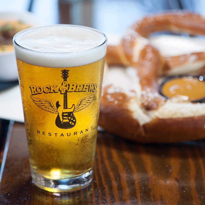 Rock and Brews Beer and Pretzel